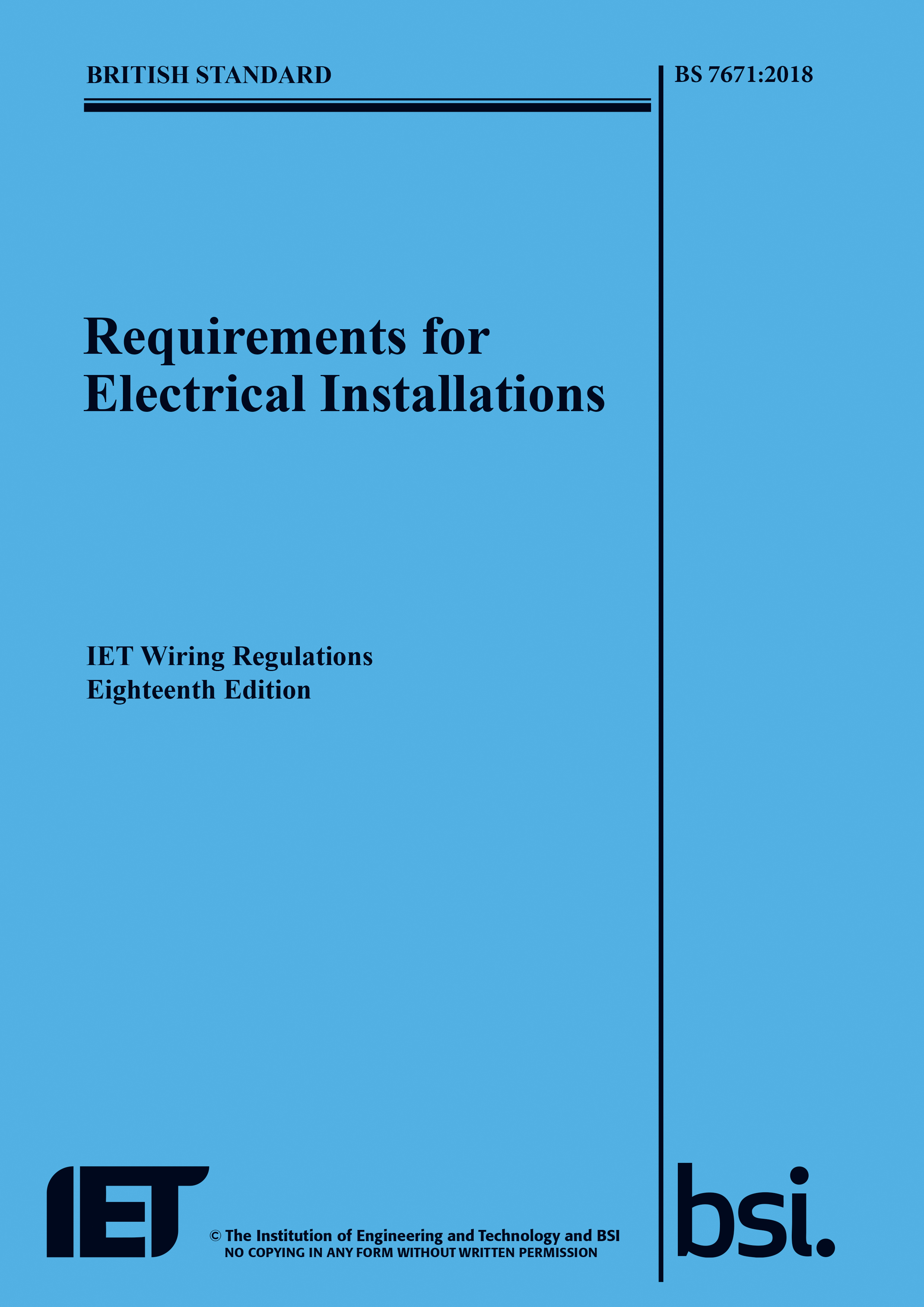 The 18th Edition Bs 76712018 Launch Revisited Iet Electrical Wiring Help Needed Ukcampsitecouk Caravans And Caravanning Forum